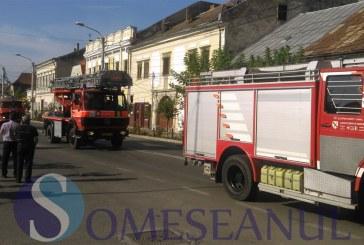 Incendiu la un apartament din Baia Mare