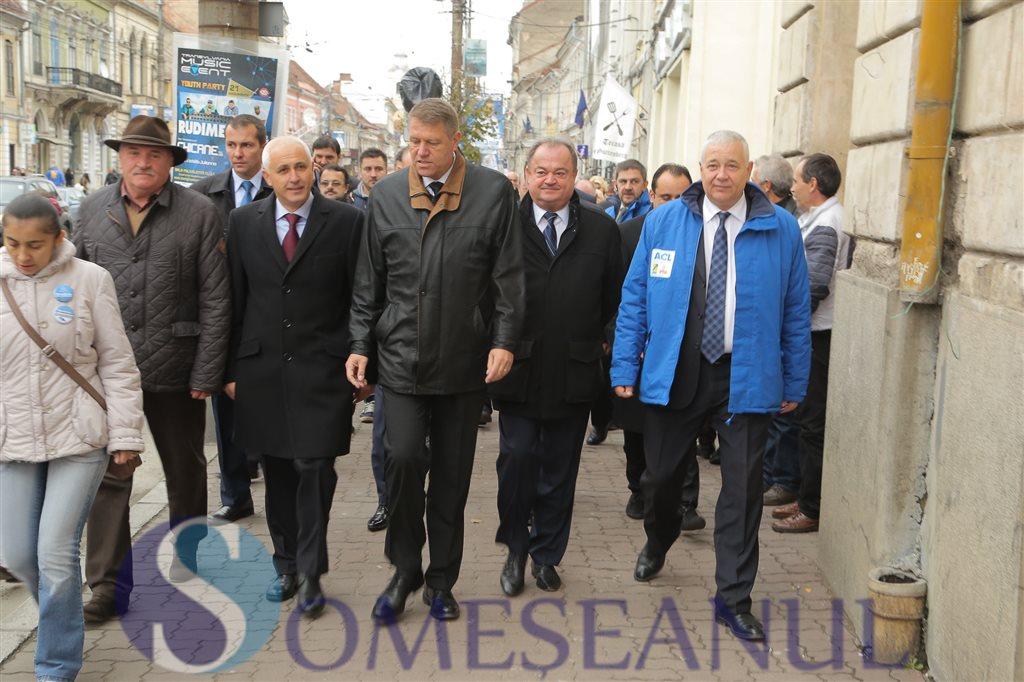 Klaus Iohannis - Aurelian Muresan - Cluj 2014 (1)