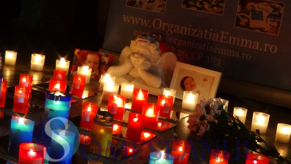 Ziua internationala a comemorarii bebelusilor si a copiilor marcata la Dej (11)