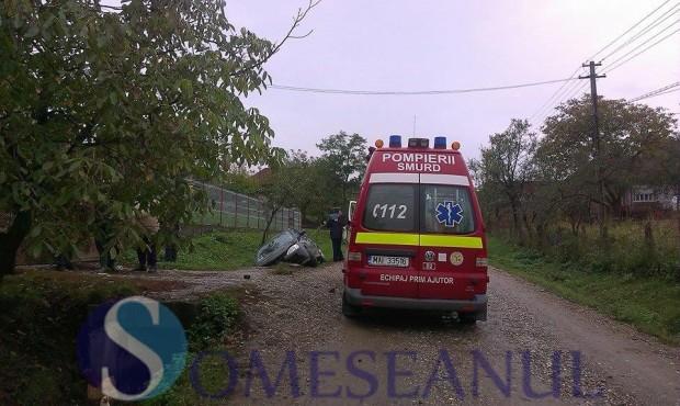 accident Sanmarghita cap de pod