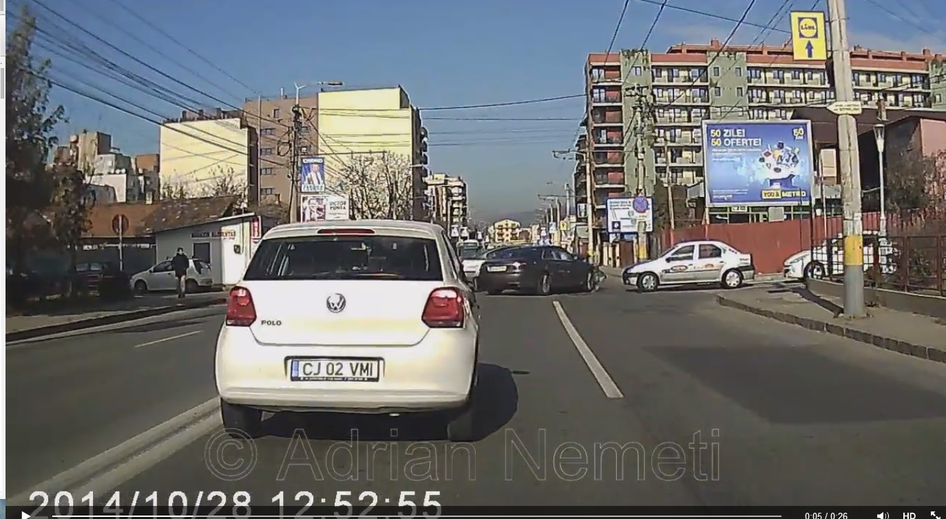 accident cluj live