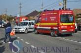Accident grav la Turda. Neatenția șoferului, i-a băgat în spital pe soția și nepotica