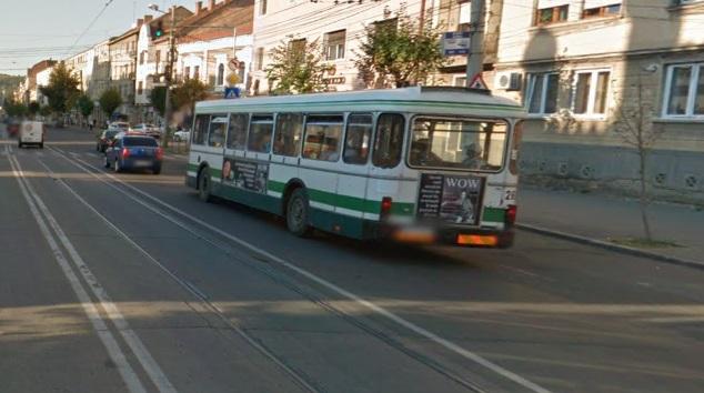 autobuz cluj strada horea