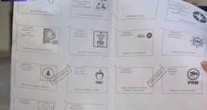 buletin de vot prezidentiale