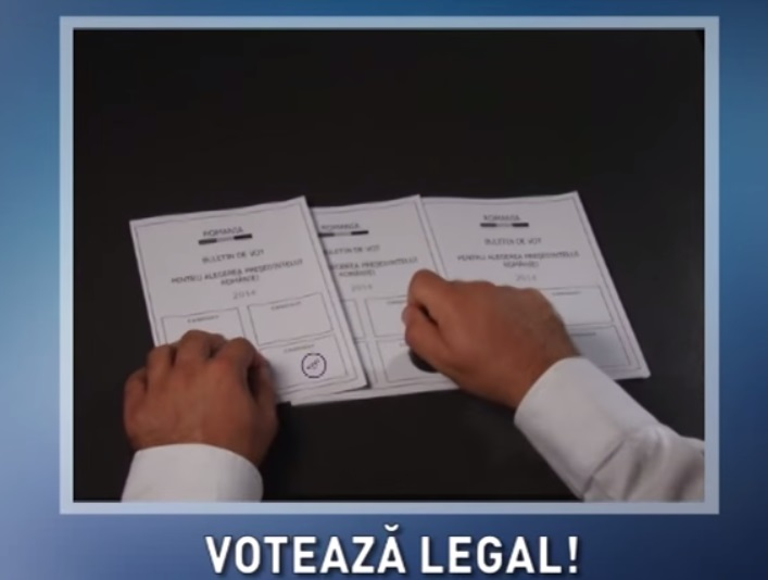 campanie voteaza legal