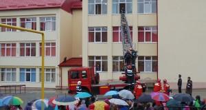 exercitiu pompieri scoala