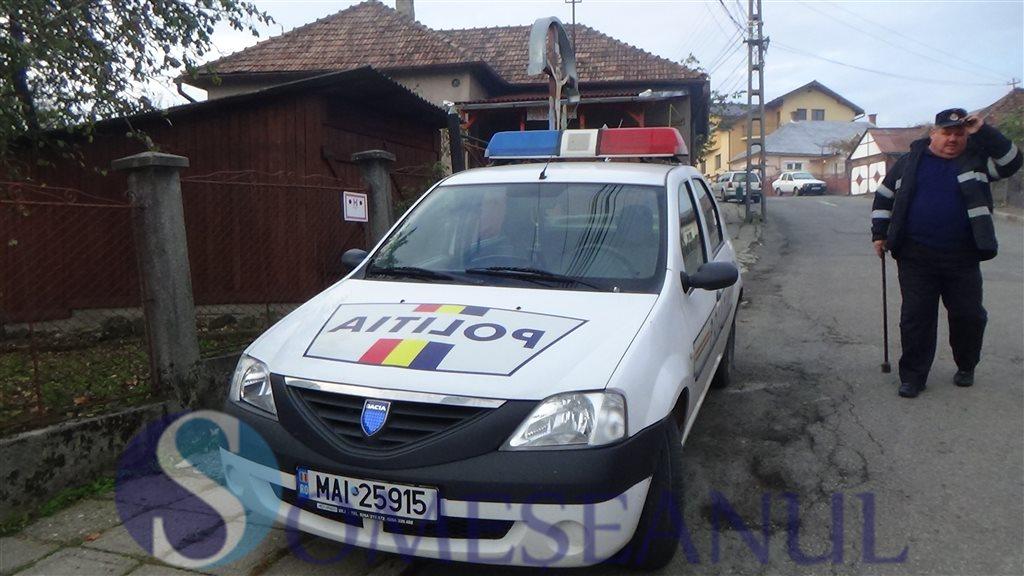 incendiu Dej strada Tiblesului politie