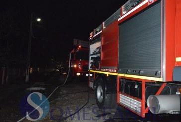Incendiu la o gospodărie din Mintiu-Gherlii – FOTO/VIDEO