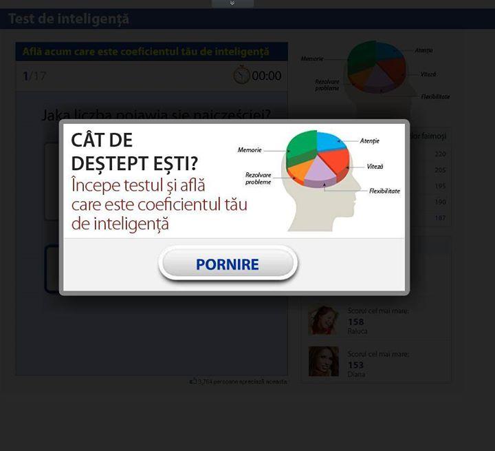 virus facebook aplicatie cat esti de destept