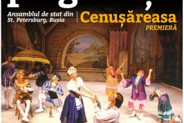 """CONCURS: Someșeanul.ro te trimite la premiera """"Cenușăreasa"""" a Baletului pe gheaţă din Sankt Petersburg"""