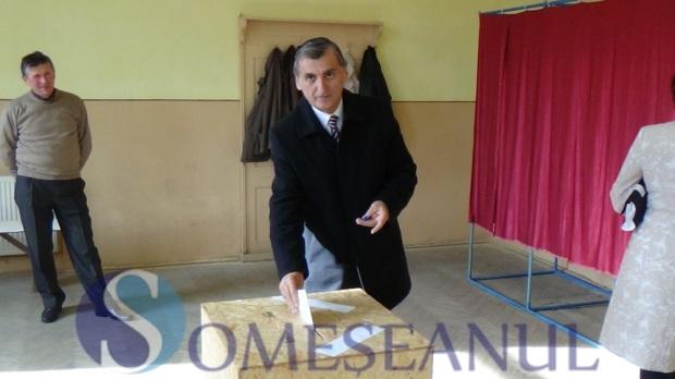 Morar Costan vot alegeri prezidentiale Dej turul II (1)