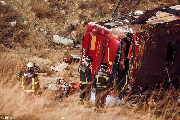 accident autocar spania-2