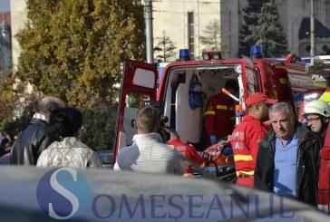 Femeie accidentată grav la Cluj, după ce a traversat neregulamentar strada