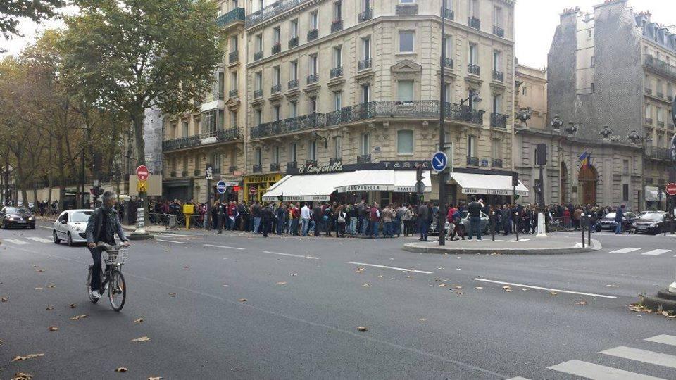 coada sectie votare paris