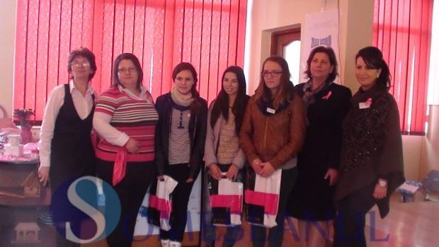educatie pentru sanatate cancer mamar scoala Dej (1)