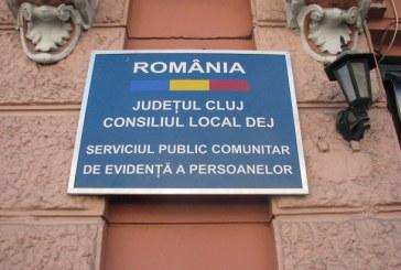 Concurs pentru postul de referent la Serviciul Public Comunitar de Evidență a Persoanelor Dej