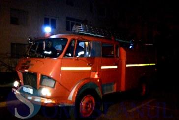 Alarmă de incendiu la un apartament din Gherla – FOTO