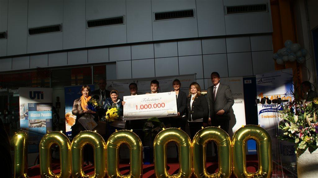 pasagerul 1 milion aeroport cluj (3)