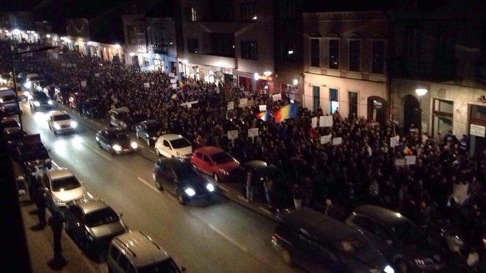 protest diaspora cluj