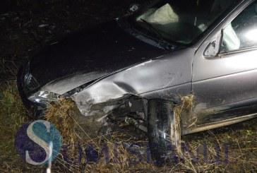 Accident pe centura ocolitoare a municipiului Gherla. Un șofer a adormit la volan – FOTO