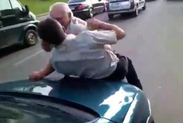 Răfuială între șoferi la Cluj. Unul dintre ei a căzut inconștient pe stradă