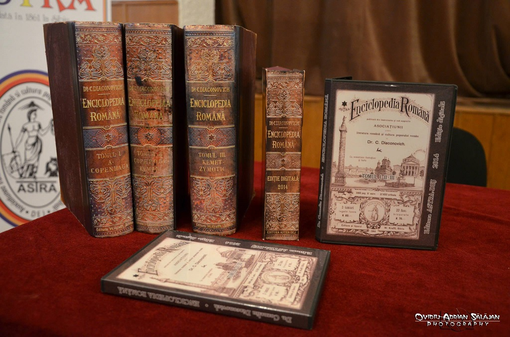 lansare enciclopedia romana astra dej-