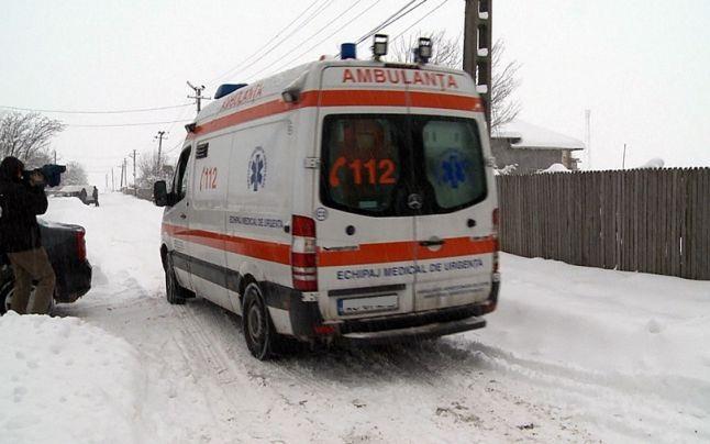 Prima victimă a gerului în Maramureș. Un bărbat a murit înghețat