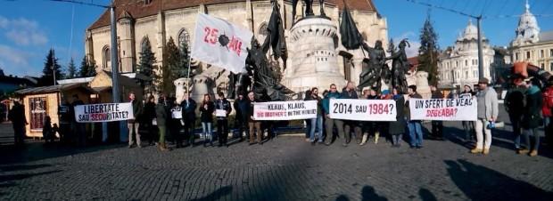 proteste Cluj legea cibernetica