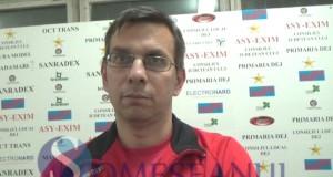 someseanul-Victor Lazar - antrenor Unirea Dej volei