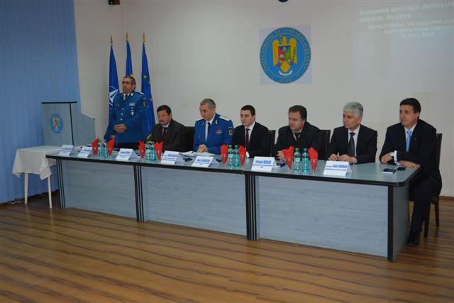 evaluarea activitatii Jandarmeria Cluj
