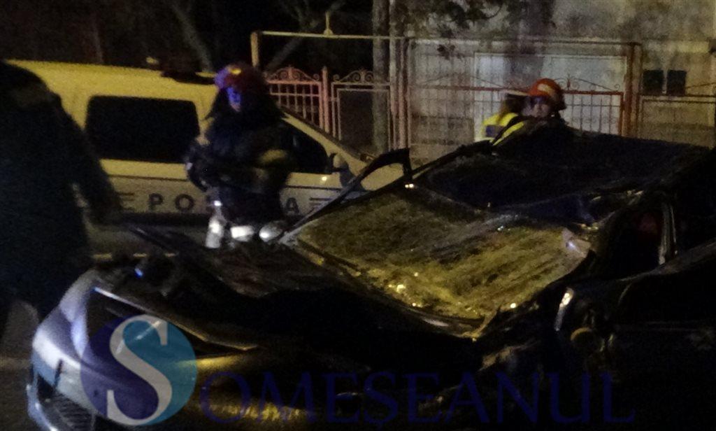 accident descarcerare Zalau (1)