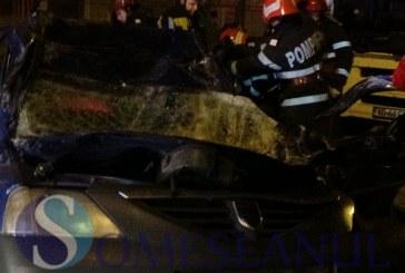 Accident mortal în Sălaj. Un bărbat a intrat cu mașina într-un cap de pod