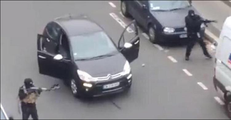 atac armat Charlie Hebdo Paris
