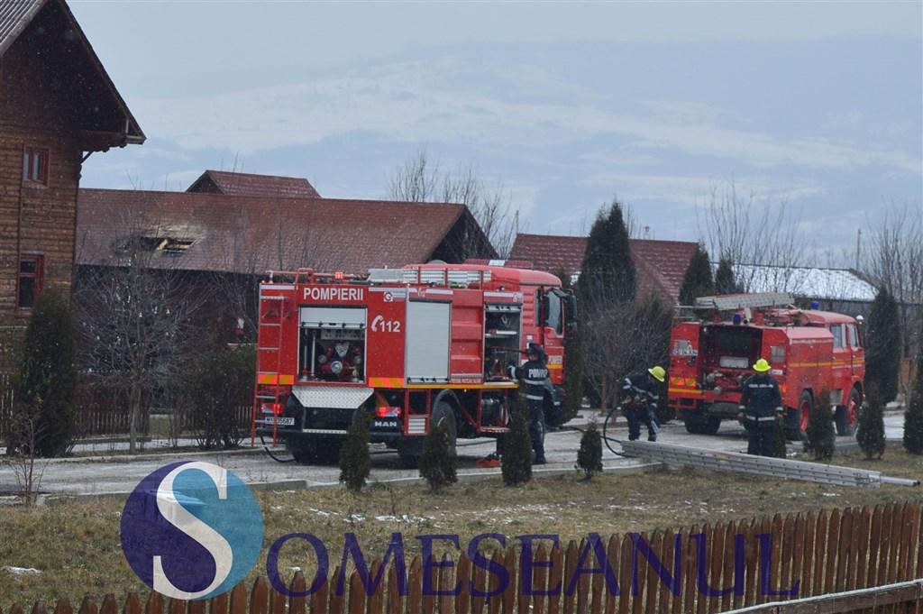 incendiu cabana gherla-3