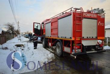 Incendiu în localitatea Săcălaia
