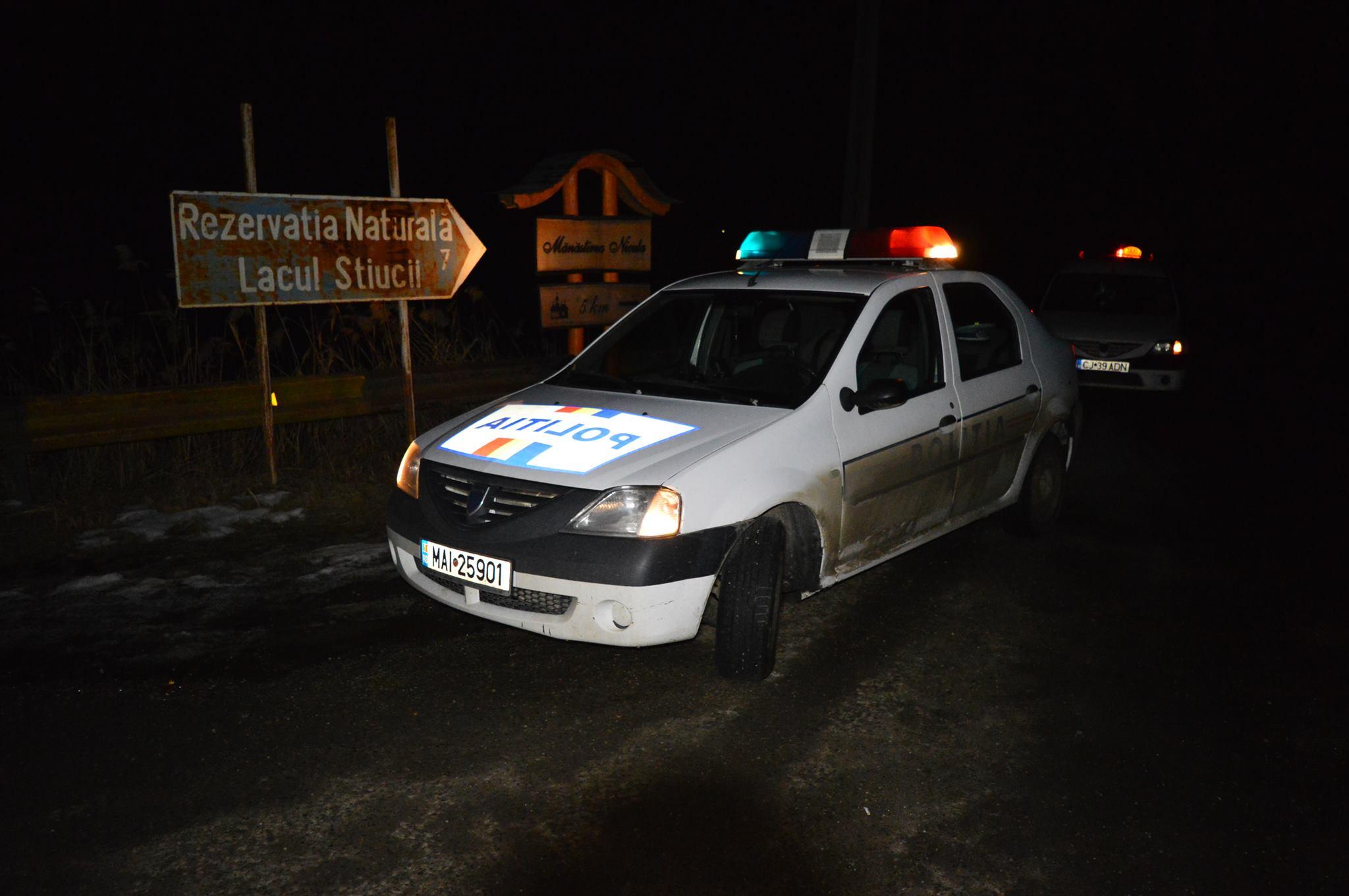 masina politie gherla