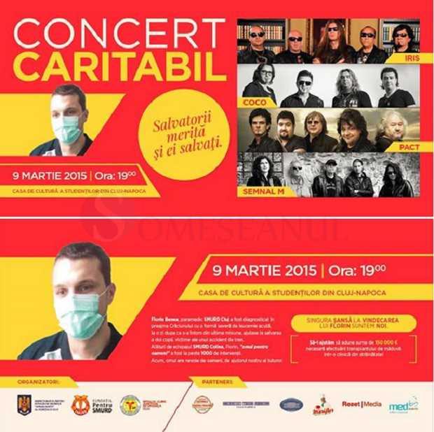 Concert caritabil Iris Florin Benea