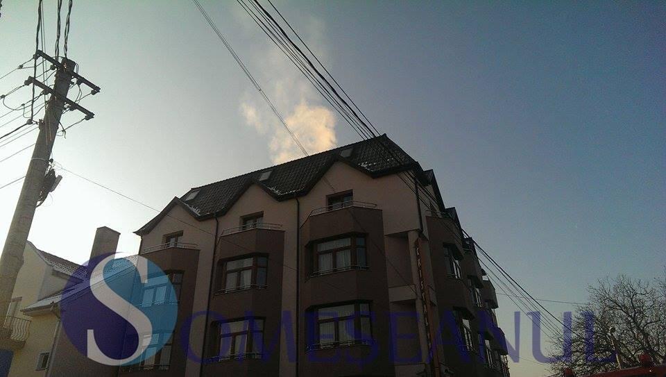 incendiu hotel cluj-1