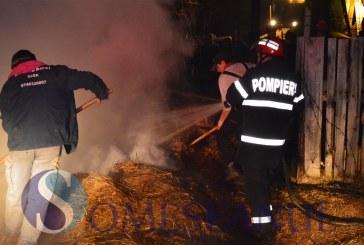Incendiu la SIC. Trei tone de fân s-au făcut scrum – FOTO/VIDEO