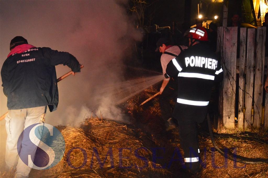 incendiu pompieri sic