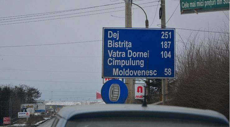 indicator rutier distante dej cluj