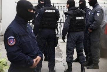 Percheziții DIICOT la Gherla. Doi traficanți de droguri de mare risc au fost prinși în flagrant la Dej