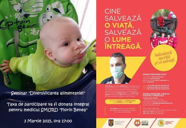 seminar caritabil Pediatru Cluj-Florin Benea