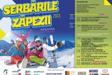 Au început Serbările Zăpezii la Băișoara. Programul evenimentelor