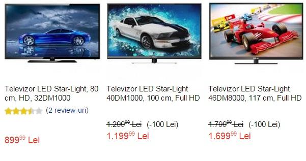 televizoare star-light emag