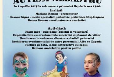 Ziua Internațională a Autismului, marcată joi la Dej. Primăria Dej va fi iluminată în albastru
