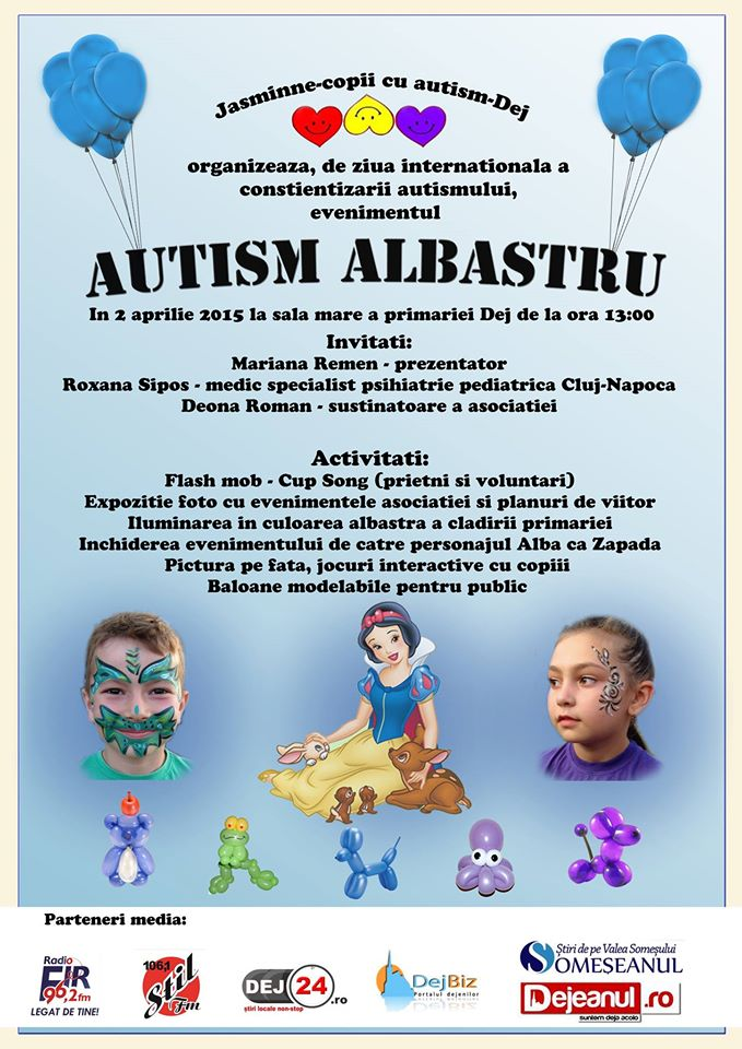 Autism albastru dej
