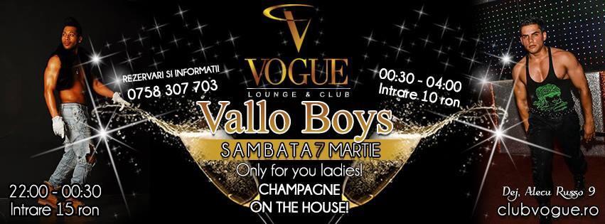 Streaptease Vallo Boys Vogue Dej