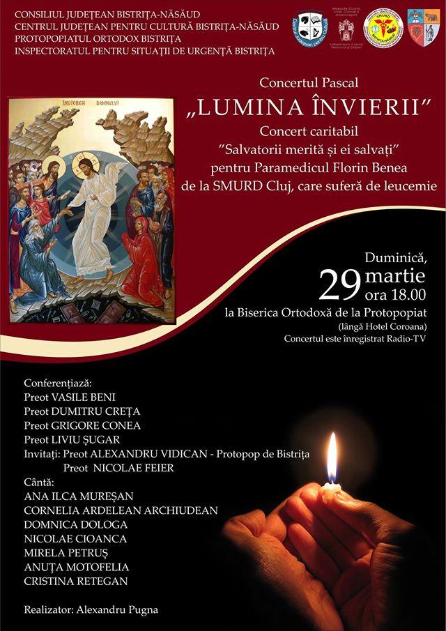 concert pascal Lumina Invierii Bistrita