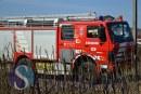 Pompierii din Ileanda, solicitați la două evenimente care au blocat circulația între Dej și Baia Mare